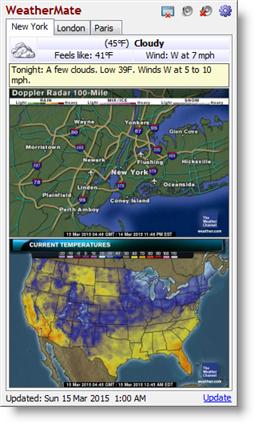 WeatherMate screenshot